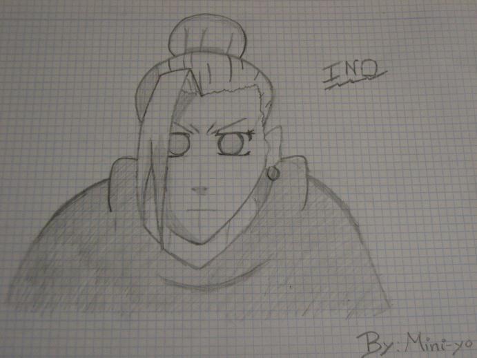 Ino Yamanaka. By:Mini-yo