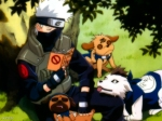 Kakashi_Reading_With_Dogs-621767